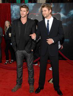 Liam Hemsworth & Chris Hemworth