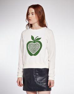 YMC Apple sweat (white)