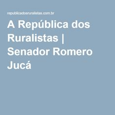 Romero Jucá, senador pelo PMDB/RR, governou Roraima de 1988 a 1992. Economista, a gestão de Jucá junto à Funai (1986/1988) sofreu intervenção do TCU devido a irregularidades financeiras. Em 1987, a FUNAI firmou inúmeros contratos irregulares para permitir a exploração de madeira em TIs de RO, MT, PA e AM. Autor do PL 1610/1996, Jucá também assinou, em 1987, um convênio entre a Funai e o Departamento Nacional de Produção Mineral para exploração mineral empresarial em áreas indígenas.