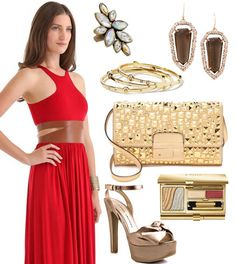 Look Gorgeous in Solid Red This Holiday Season