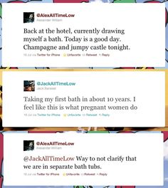 Jack and Alex are one of the many that need to clarify.