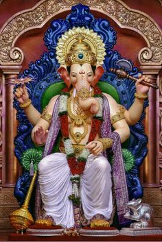 Jai Ganesh, Ganesh Lord, Ganesh Idol, Shree Ganesh, Ganesha Pictures, Ganesh Images, Ganesh Wallpaper, Radha Krishna Wallpaper, Wallpapers Flowers