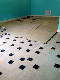 Easy studio dance floor installation you can do it yourself floating the studio dance floor solutioingenieria Gallery