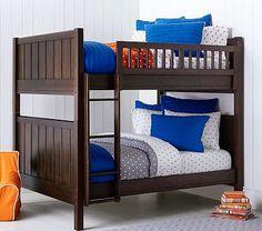 Camp Full-Over-Full Bunk Bed #pbkids