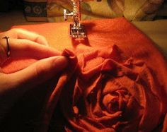 Ruffles and Roses: Ruffle Rose Tank - Tshirt Refashion Tutorial Part II