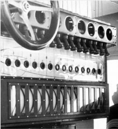 Hindenburg's Gas Board, where hydrogen was monitored and valved.