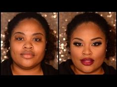How to: Highlight & Contour for Round and Full Faces: Lose 10 Pounds With This Technique! - YouTube