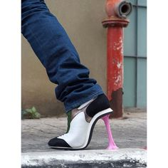 Haha... cool idea for a high heel :P
