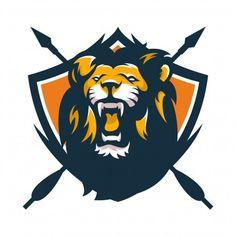 Explore over logo templates including badges, icons, and other elements for creating unique, feminine, and modern logos. Game Logo Design, Logo Design Services, Animal Design, Dog Design, Aztecas Art, Esports Logo, Lion Logo, Animal Logo, Logo Design Inspiration