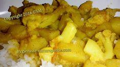 Bon appétit !  Des légumes à l'Indienne comme je les aime :-) #recette #sanslactose 100% #végétale saine & gourmande #JeNeMangePasDeProduitsContaminés