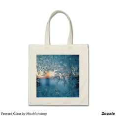 Frosted Glass Tote Bag