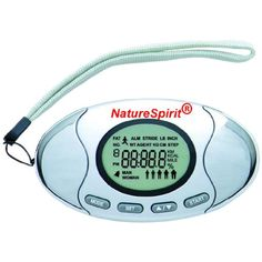 NatureSpirit 2 In 1 Pedometer with Body Fat Analyzer, 0.14 Pound *** For more information, visit image link. (This is an affiliate link) #HealthMonitors