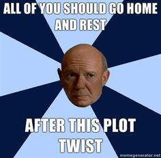 """Time to go home? Think again, detectives. 