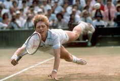 Boris Becker : July 7, 1985 was the day I decided I wanted to be a professional tennis player #legend #tennis