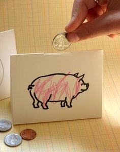 It seems a little silly to spend a bunch of money on something to hold your money...8 DIY piggy bank ideas