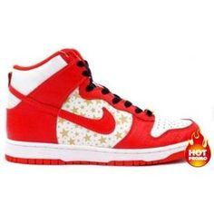 newest db202 b3338 Mens Nike Dunk High Pro SB Supreme Red