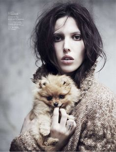 visual optimism; fashion editorials, shows, campaigns & more!: 160 hall street: ruby aldridge by stian foss for jalouse october 2013