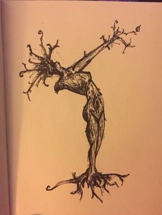 Woodland nymph... Or she Groot.