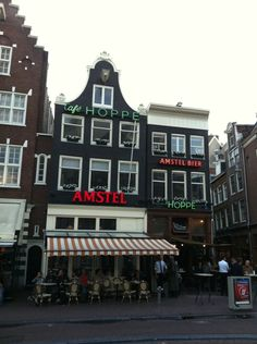 Hoppe in Amsterdam, Noord-Holland Four Square, Times Square, Brown Cafe, My Happy Place, 17th Century, Holland, Amsterdam, Dutch, Feels
