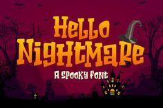 Halloween Fonts, Halloween Horror, Halloween Design, Spooky Font, Kid Fonts, Craft Quotes, Cricut Fonts, Cool Fonts, Sign Quotes