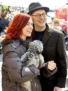 Michael Emerson and Carrie Preston.  Husband and Wife in Real Life.
