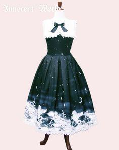 Innocent World 奇跡の夜空聖歌隊ジャンパースカート