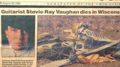 26 Years Ago: Stevie Ray Vaughan Dies, And The World Is Suddenly A Much Darker…
