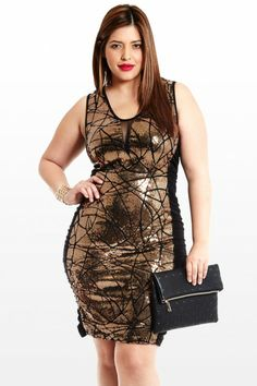 Shining Starlet Sequin Dress Plus Size Dresses, Plus Size Outfits, Sequin Dress, Bodycon Dress, Nye Outfits, New Years Dress, Fashion To Figure, Country Outfits, Plus Size Fashion