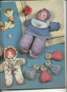 Free Copy of Patterns - a variety of cloth dolls to make.