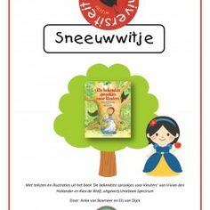 Een project rond het sprookje 'Sneeuwwitje' aan de hand van het boek 'De bekendste sprookjes voor kleuters' van Alex de Wolf en Vivian den H...
