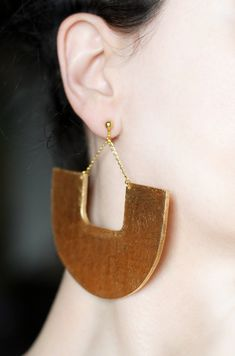Screw on earrings Clip on earrings African jewelry Tribal clip on Dangle…