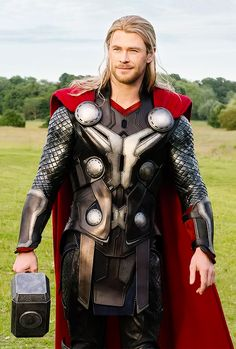 I really don't care if someone thinks Thor is lame... sorry, but he is my favorite. he is my favorite not because he is played by Hemsworth, but because he has strong sense of honor and respect, and heroism. I loved him back when he was an animated character on a piece of paper.