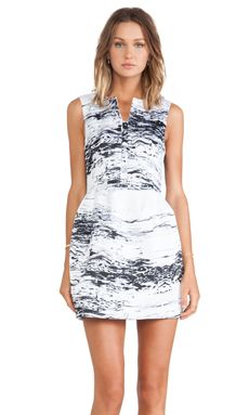 C/MEO The Outcome Dress in Marble