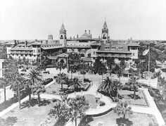 The Hotel Ponce de Leon opened January 10, 1888.