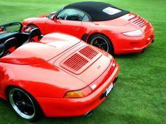 Porsche 911 Speedsters - Red