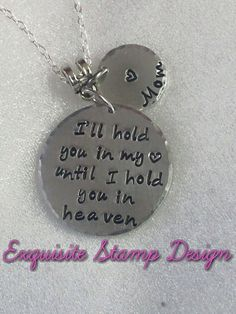 Sympathy Gift-I'll Hold You In My Heart  by ExquisiteStampDesign