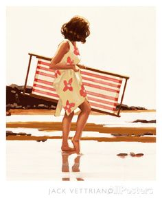 Sweet Bird of Youth (study) Art by Jack Vettriano at AllPosters.com - I love this painting