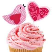 valentine cupcake rings