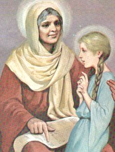 St Anne Mother Of Mary - July Happy Feast Day, dear St. Anne, my patron saint. St Anne, Happy Feast Day, Saint Feast Days, World Religions, Blessed Virgin Mary, Patron Saints, Special People, Spirituality, Pictures