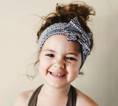 Trouble keeping their h#air back and out of their face?  Add a fun wide headband!