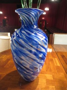 blue and white glass vase - Google Search