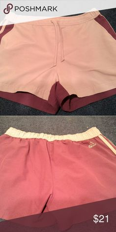 Adidas shorts. Dark purple and lite purple Lg dark purple and lite purple shorts Adidas Shorts Bermudas