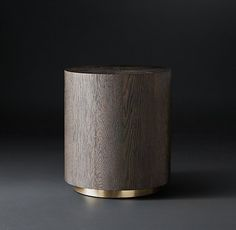 "Machinto Round Side Table 18"" diam., 20""H 22"" diam., 24""H 695-895"