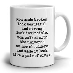 Perfect Gift for Mom from Daughter Coffee Mug, Unique Presents for Mot - Stir Crazy Gifts
