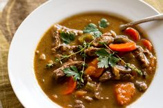 Made with healthy grass fed beef, this paleo friendly beef stew recipe is hearty, spicy, thick and nutritious. Best beef stew you'll ever make!