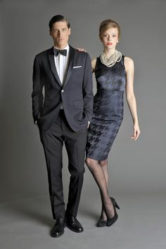 Banana Republic + Mad Men - I have that dress! This is so exciting! lol!
