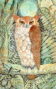 Whoo whooo Woke the Owl - by Suzanne Gyseman