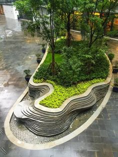 Shanghai Hongqiao Tiandi Southern District Landscape design by DLC Landscape And Urbanism, Landscape Elements, Landscape Architecture Design, Urban Landscape, Landscape Timbers, Landscape Mode, Architecture Diagrams, Landscape Plans, Architecture Portfolio