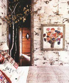 birch walls