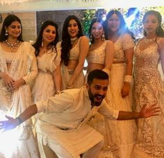 Happy time at Sonam kapoor Sangeet ceremony Sonam Kapoor Wedding, Bollywood Wedding, Desi Wedding, Wedding Wear, Fashion Couple, Diva Fashion, Indian Celebrities, Bollywood Celebrities, Bollywood Stars